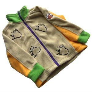 🧚♀4/$25 + $10 Gruffalo Fleece Zip Jacket Size 4
